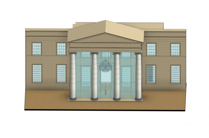 Glass Entrance