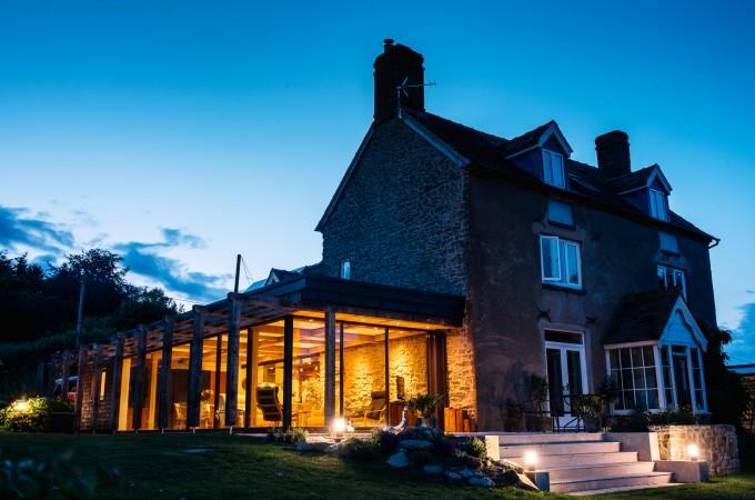 Contemporary Farmhouse Extension